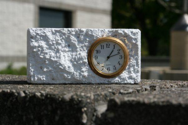 Besser Mini Block Clock Promotional Gift Item