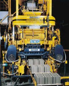 Besser's Vibrapac® Concrete Block Machine