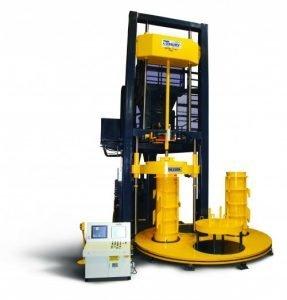 Besser's BiDi Concrete Pipe Machine