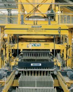 Besser's Superpac® Concrete Block Machine